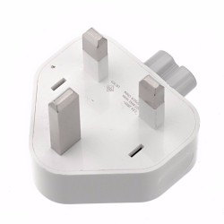 Apple Wall AC UK-3 Pin Plug Charger Power Adapter for Apple iPad MacBook Magsafe (OEM)