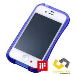 CLEAVE CRYSTAL Bumper for iPhone 4/4S-DEEP BLUE