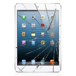 iPad Mini 2/3 Retina LCD + Touch Skærm Udskiftning - Hvid