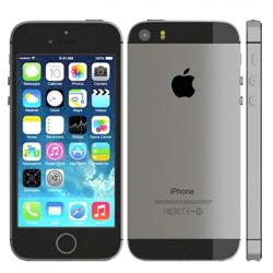 Apple iPhone 5S 16GB (Sort) - Grade B