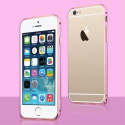 Apple iPhone 6S/6 - USAMS Aluminum Bumper - Pink