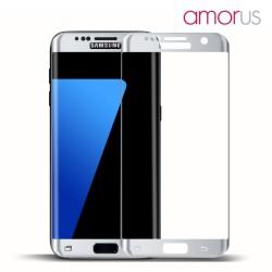 AMORUS Beskyttelsesglas 2,5D 9H til Samsung Galaxy S7 - Sølv