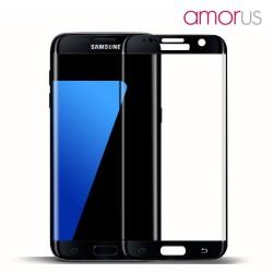 AMORUS Beskyttelsesglas 2,5D 9H til Samsung Galaxy S7 - Sort