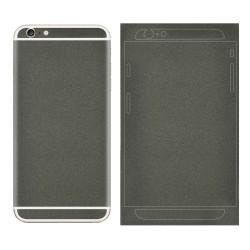 Mat Glitrende Pulver Bag Klistermærke til iPhone 6S/6 - Sort