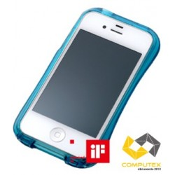 CLEAVE CRYSTAL Bumper for iPhone 4/4S-EMERALD CRYSTAL