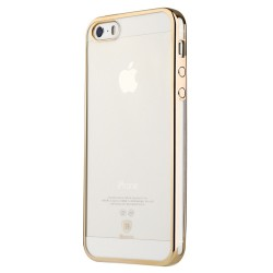 Apple iPhone SE 5S 5 BASEUS Skinnende Gele TPU Cover Guld