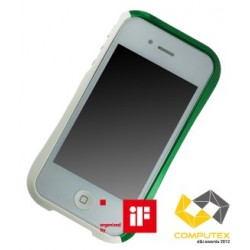DRACO EVO ALUMINUM BUMPER FOR iPhone 4/4S-SONIC GREEN