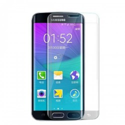 Samsung Galaxy S7 Edge BLUE STAR Beskyttelsesglas Full Coverage - Gennemsigtig