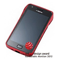 DRACO S2 ALUMINUM BUMPER for Samsung Galaxy S2-RED
