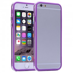 Apple iPhone 6S 6 TPU Bumper Purple