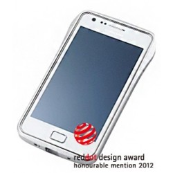 DRACO S2 ALUMINUM BUMPER for Samsung Galaxy S2-SILVER