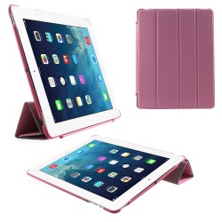Apple iPad 4 iPad 3 iPad 2 4 fold Slim Smart Cover Pink