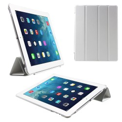 Apple iPad 4 iPad 3 iPad 2 4 fold Slim Smart Cover Hvid