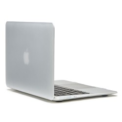 "Apple MacBook Air 13,3"" LENTION Sand Series Mat Plastik Case Hvid"