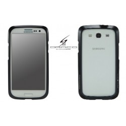 DRACO S3 ALUMINUM BUMPER for Samsung Galaxy S3-THUNDER BLACK
