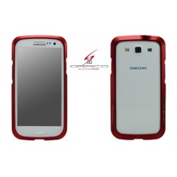 DRACO S3 ALUMINUM BUMPER for Samsung Galaxy S3-FLARE RED