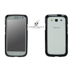 DRACO S3 ALUMINUM BUMPER for Samsung Galaxy S3-METRO BLACK