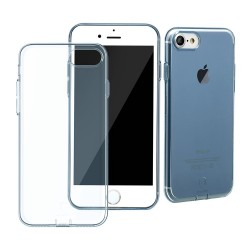Apple iPhone 7 BASEUS Simple Series TPU Beskyttelses Cover Blå