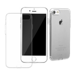 Apple iPhone 7 BASEUS Simple Series TPU Beskyttelses Cover Gennemsigtig