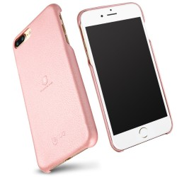 Apple iPhone 7 Plus LENUO Music Læder Cover II Pink