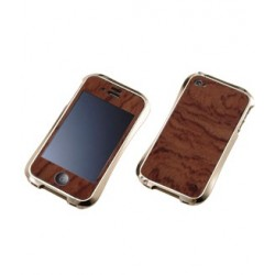 WOODEN PLATE for iPhone 4/4S-BUBINGA