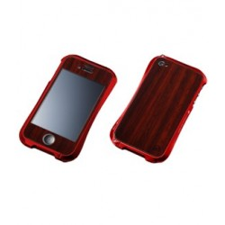 WOODEN PLATE for iPhone 4/4S-PADAUK
