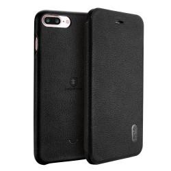 Apple iPhone 7 Plus LENUO Ledream Slim Læder Etui Sort