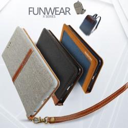 Apple iPhone 7 Plus KLD Funwear X Series Læder Etui Grå
