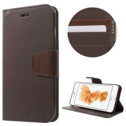 Apple iPhone 7 Plus MERCURY GOOSPERY Sonata Diary Læder Etui Coffee