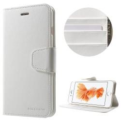 Apple iPhone 7 Plus MERCURY GOOSPERY Sonata Diary Læder Etui Hvid