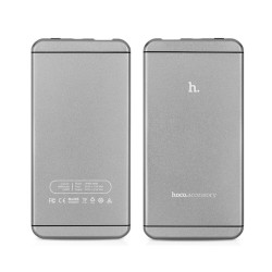 Power Bank HOCO UPB03 6000mAH til iPad iPhone Samsung Sony Pokemon m fl Grå