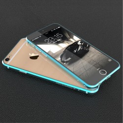 Apple iPhone 6S 6 LUPHIE RAPIER Series Aluminium Metal Bumper Blå