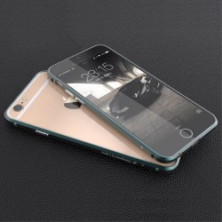 Apple iPhone 6S 6 LUPHIE RAPIER Series Alu Bumper Grøn