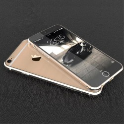 Apple iPhone 6S 6 LUPHIE RAPIER Series Alu Bumper Cream