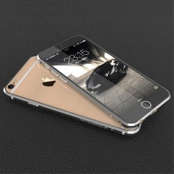 Apple iPhone 6S 6 LUPHIE RAPIER Series Alu Bumper Grå