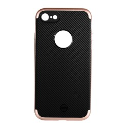 Apple iPhone 7 JOYROOM Blade Series Mat TPU Cover Rosa Guld