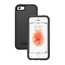 Apple iPhone 5 5S SE OTTERBOX Symmetry Series Plastik Cover Sort