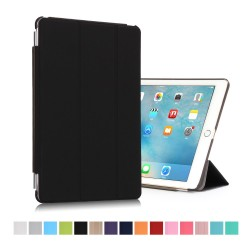 "iPad Pro 9,7"" Tri-Fold Stand Smart Folio PU Læder Cover - Sort"