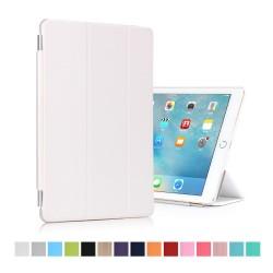 "iPad Pro 9,7"" Tri-Fold Stand Smart Folio PU Læder Cover - Hvid"