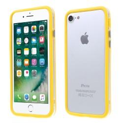 Apple iPhone 7 TPU + PC Bumper Gul
