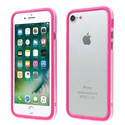 Apple iPhone 7 TPU + PC Bumper Pink