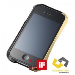 DRACO IV ALUMINUM BUMPER for iPhone 4/4S-ZEN