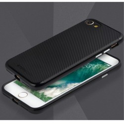 Apple iPhone 7 TOTU Carbon Fiber PC + TPU Hybrid Shell Cover Sort