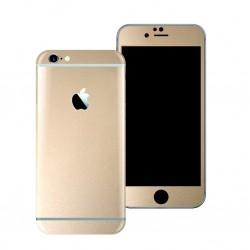 Apple iPhone 6S GLOSSY Champagne GOLD METALLIC Skin