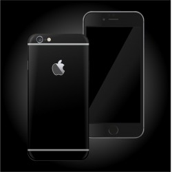 Apple iPhone 6S DEEP BLACK MATT Skin