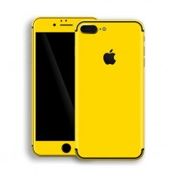 Apple iPhone 7 PLUS GLOSSY Lemon Yellow Skin