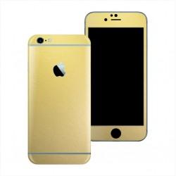 Apple iPhone 6S PLUS MATT GOLD METALLIC Skin