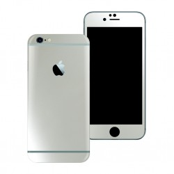 Apple iPhone 6 Plus 6S PLUS Satin PEARL WHITE Skin