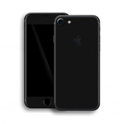 Apple iPhone 7 BLACK MATT Skin Sort