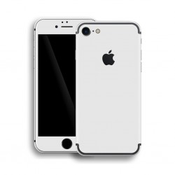 Apple iPhone 7 GLOSSY WHITE Skin Hvid